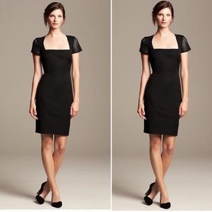 Roland Mouret Banana Republic Black Bodycon Dress!